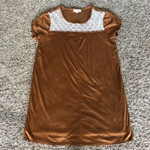 Taylor & Sage lace polyester t-shirt dress, XL